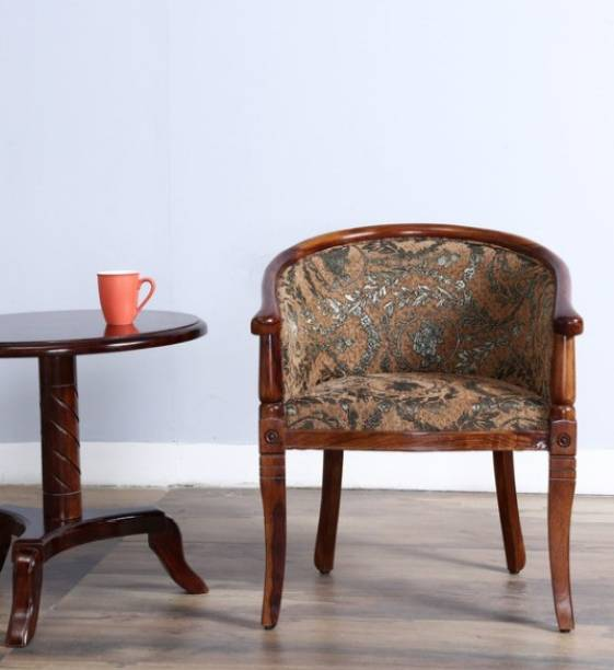 Medieval Arts Solid Wood Living Room Chair