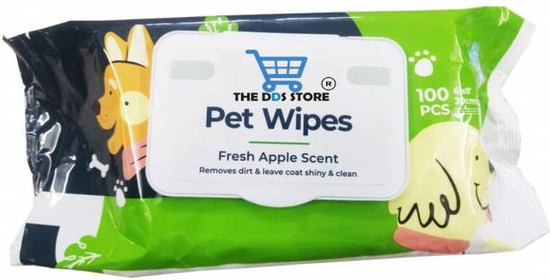THE DDS STORE Superior QualityWet Pet Wipes for Dogs Pet Ear Eye Wipes Pet Ear Eye Wipes Pet Ear Eye Wipes