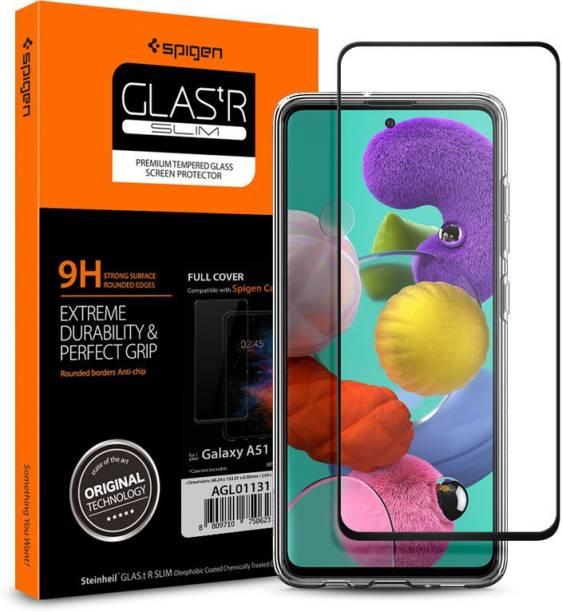 Spigen Tempered Glass Guard for Galaxy A51