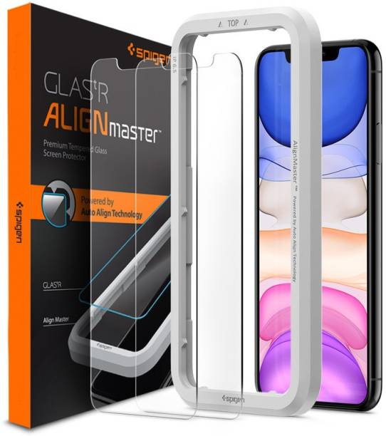 Spigen Tempered Glass Guard for iPhone 11, Apple iPhone XR