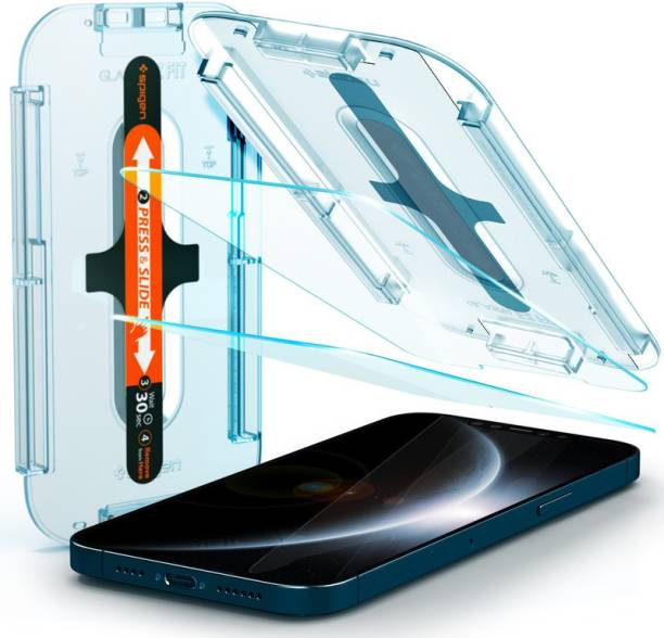 Spigen Tempered Glass Guard for iPhone 12 Pro Max