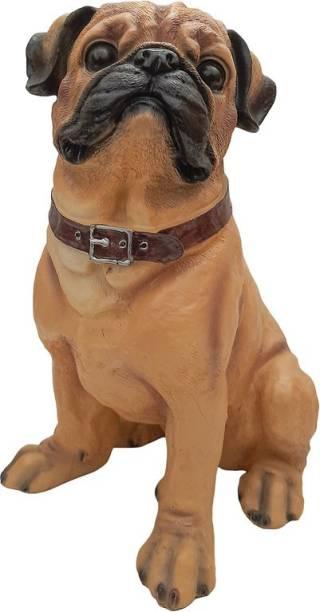 FABZONE Dog statue Animal Figurine Decorative Showpiece  -  34 cm