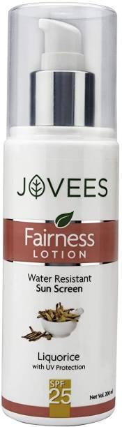 JOVEES Fairness Lotion Sun Screen - SPF 25