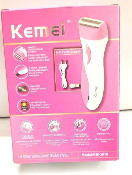 Kemei KM-3018  Runtime: 90 min Trimmer for Women