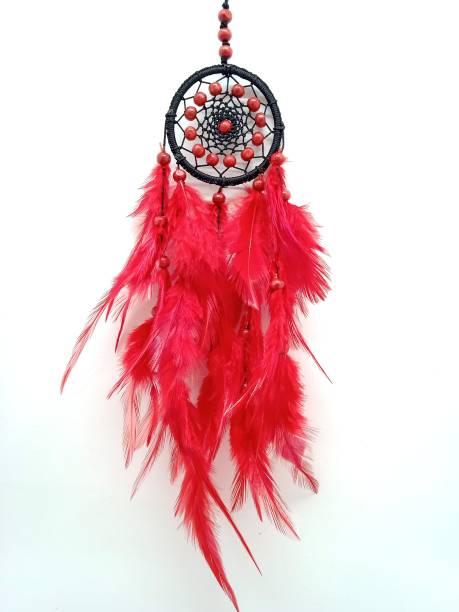 budsnbeau Nylon, Feather, Wood Dream Catcher