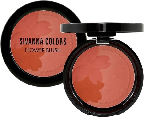 sivanna colors Matte Flower Blush Pressed Powder Blush Multi