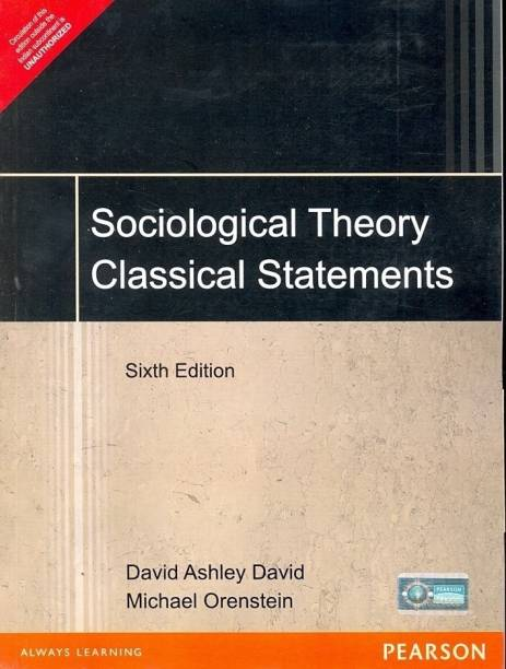 Sociological Theory Classical Statements