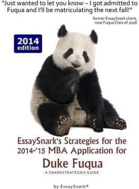 Essaysnark's Strategies for the 2014-'15 MBA Application for Duke Fuqua