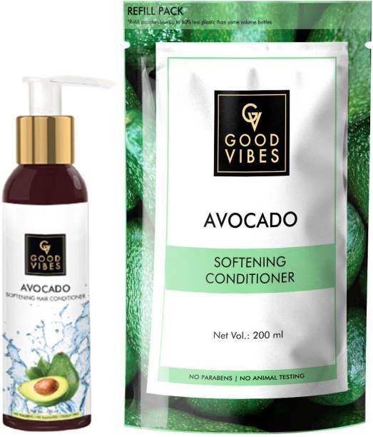 GOOD VIBES Softening Avocado Hair Conditioner