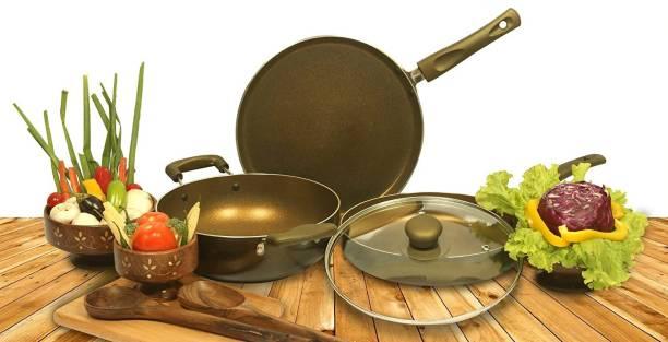 NIRLON GoldRush_Gift_Set Cookware Set