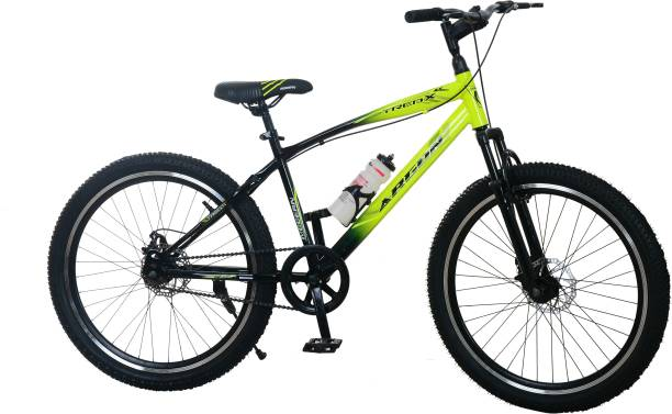 Argon Rafals 26T MTB/Bicycle/Road Cycle (Single Speed) Fluorescent (Green-Black) 26 T Mountain Cycle