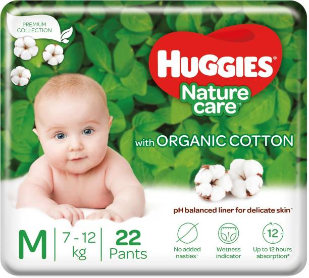 Huggies Nature care pant Diaper - M