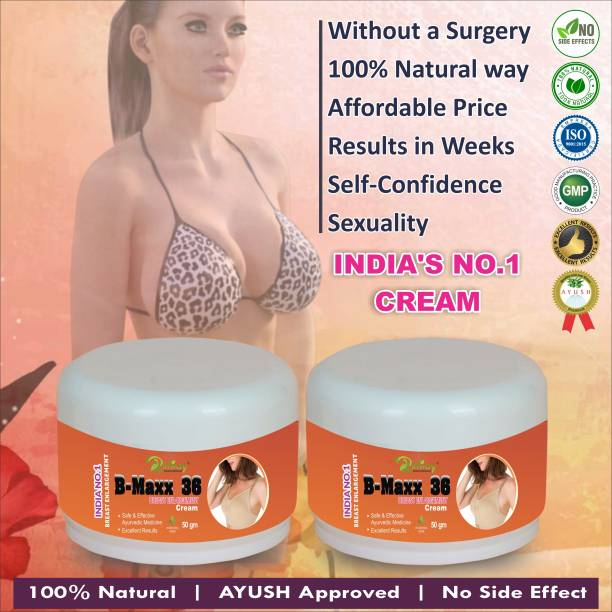 Riffway B Max 36 Herbal Cream For Helps To Helps In Correcting Underdeveloped Breasts 100% Ayurvedic