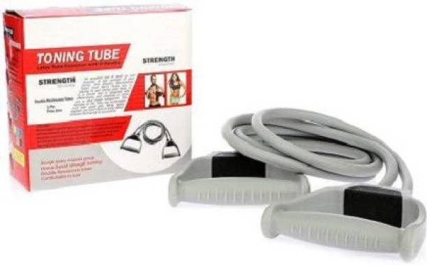ADONYX Double Toning Tube Full Body Resistance Band