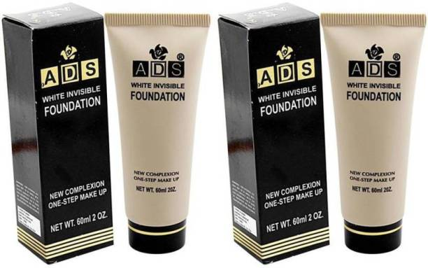 ads White invisible foundation (white 60ml each) Foundation