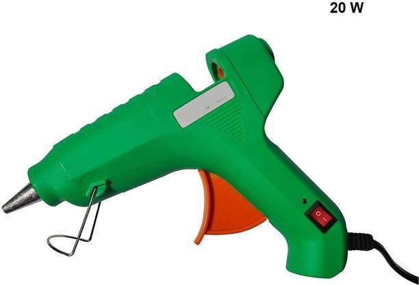 rci 20 Watt Glue Gun With Spartan Glue Stick/5 Pieces Of 8-Inch Glue Sticks Multicolure Standard Temperature Pneumatic Glue Gun
