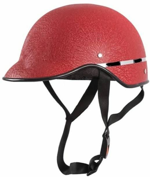 RACING Fly Unisex Wrinkle Mini Motorbike Helmet
