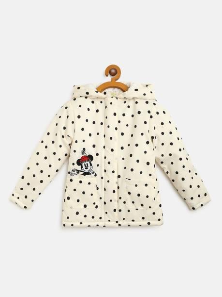 YK Disney Full Sleeve Printed Girls Jacket