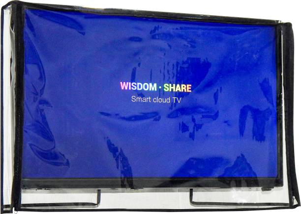 LooMantha Transparent PVC Television cover Protector for 32 inch LCD/ LED TV  - All Brands & Models