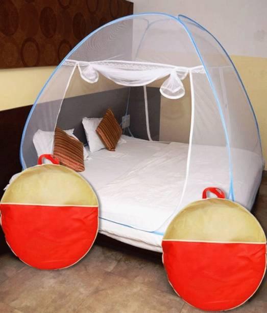 Libra Nylon Kids Double Bed Foldable Mosquito Net