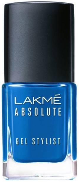 Lakmé Absolute Gel Stylist Nail Color Clear Sky