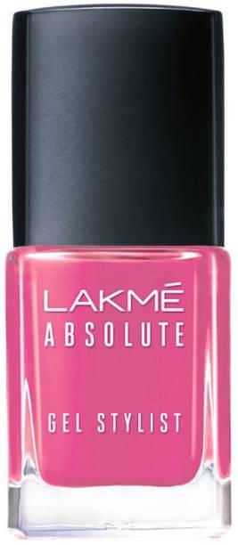 Lakmé Absolute Gel Stylist Nail Color Pink Date