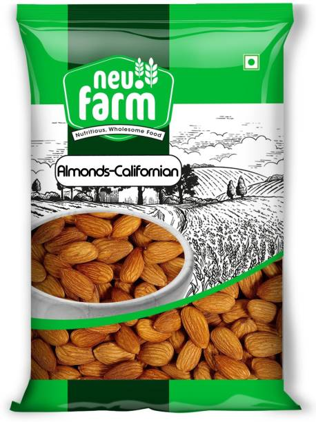 Neu.Farm Almonds/Badam - Californian - Premium Quality - 100% Natural - 1Kg Almonds
