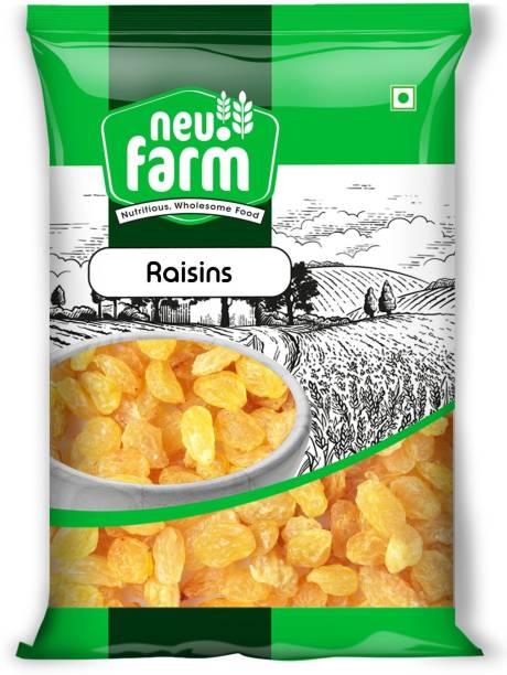 Neu.Farm Raisins/Kishmish - Indian - Premium Quality - Dried Raisins Raisins