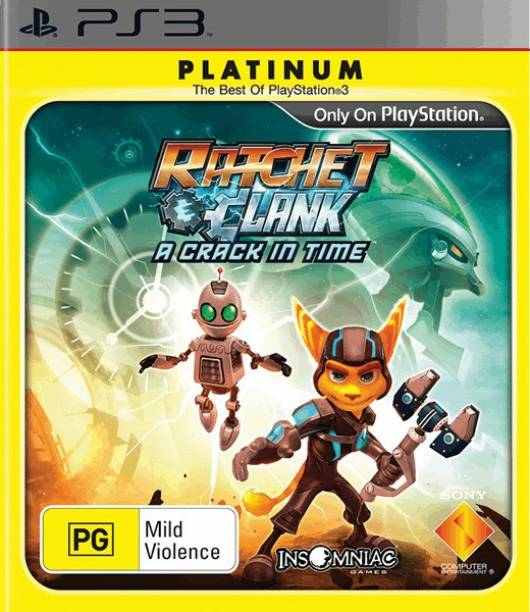 Ratchet & Clank A Crack In Time (for PS3) (PLATINUM EDITION)