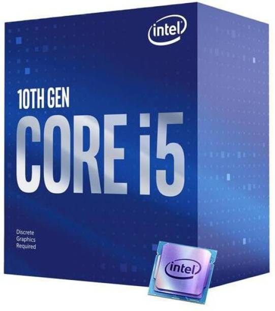 Intel Core i5-10400F 2.9 GHz Upto 4.3 GHz LGA 1200 Socket 6 Cores 12 Threads 12 MB Smart Cache Desktop Processor