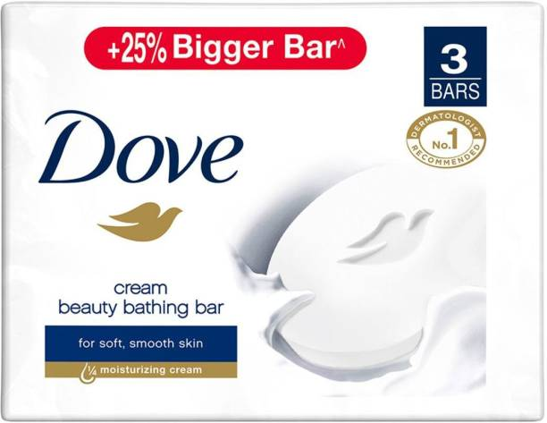 DOVE Cream Beauty Bar - Soft, Smooth, Moisturised Skin