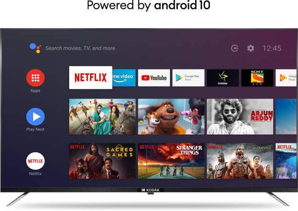 KODAK CA Series 108 cm (43 inch) Ultra HD (4K) LED Smart Android TV with Dolby Digital Plus