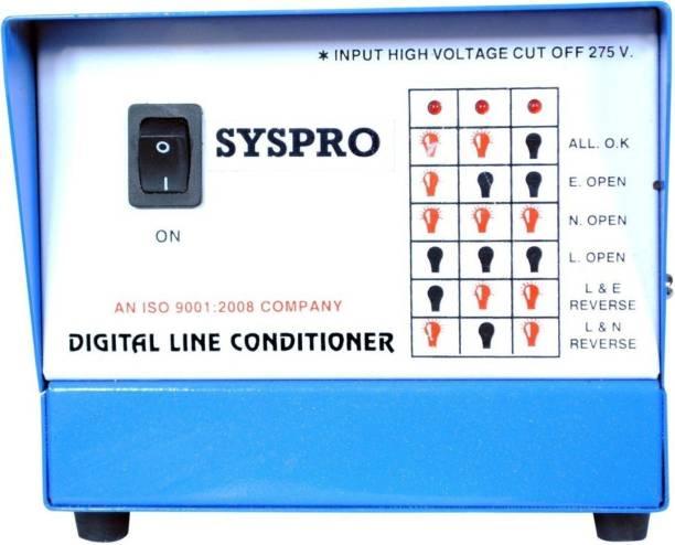 Syspro Computer Shield Voltage Stabilizer ( Digital Line Conditioner ) With 2 Years Warranty Voltage Stabilizer