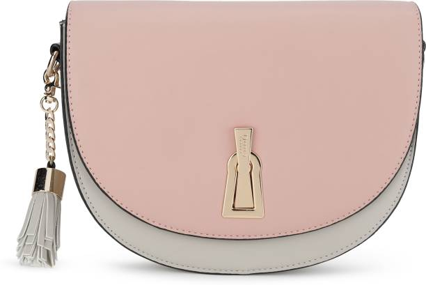 Dune London Grey, Pink Sling Bag
