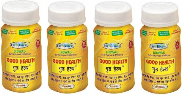 Good Health Safe Ayurvedic Capsules (50X4) Pack of 4