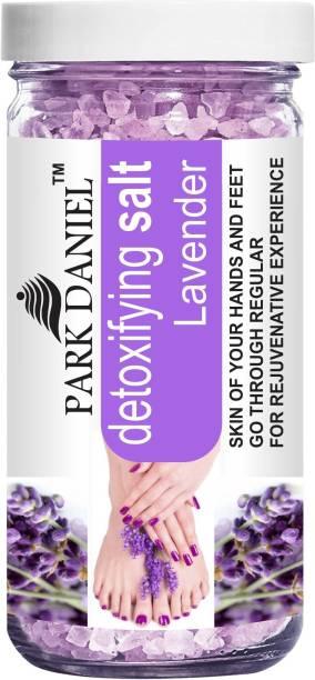 Park Daniel Premium Lavender Bath Salt- For Soothing & Relaxation -Pedicure & Manicure Salt (200 Gms)