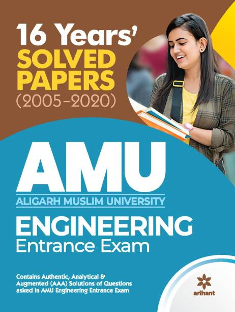 16 Years Solved Papers for Amu Engineering Entrance Exam 2021
