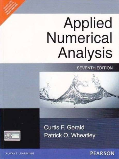 Applied Numerical Analysis 7th  Edition