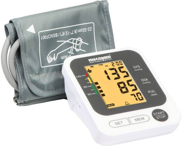 NISCOMED PW-215 Fully Automatic Digital Blood Pressure Monitor Fully Automatic Digital Blood pressure Monitor Bp Monitor