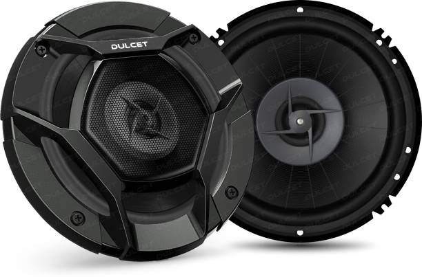 "DULCET DC-S60 6"" 3-Way Coaxial Car Speakers with 280 Watts Peak Power Output DC-S60 Coaxial Car Speaker"