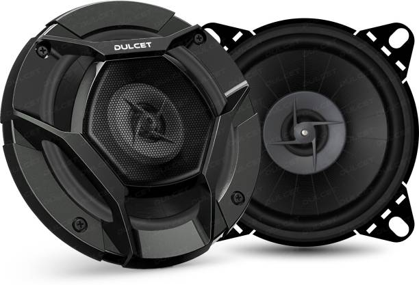"DULCET Dulcet DC-S40 4"" 3-Way Coaxial Car Speakers with 240 Watts Peak Power Output DC-S40 Coaxial Car Speaker"