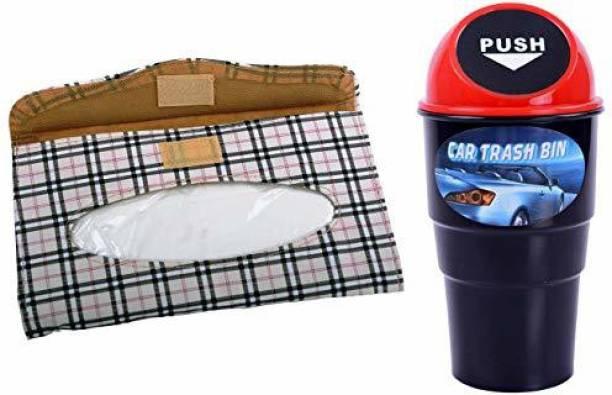 Store2508 AA35D_BEIGE Car Trash Bin Bag