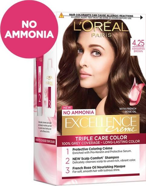 L'Oréal Paris Excellence Creme Hair Color , Aishwarya's Brown 4.25