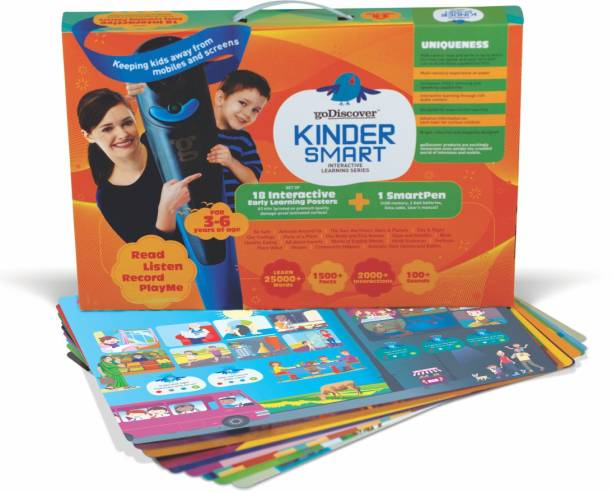 goDiscover Combo: Smart Book + Kinder Smart with Talking Pen