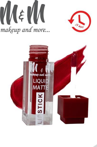 M&M Paigii Liquid Matte Lipstick Long Lasting Water Proof 24 Hour Stay