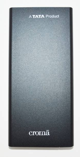 Croma 10000 mAh Power Bank (18 W, Fast Charging)