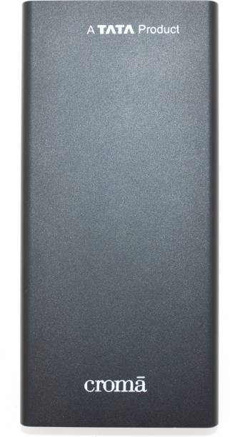 Croma 10000 mAh Power Bank (10 W)