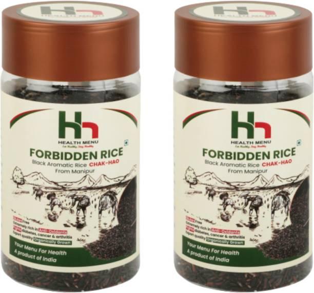 Health Menu Manipuri Chakhao Black Black Rice (Medium Grain, Unpolished)