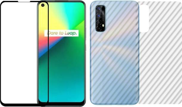Karpine Front and Back Screen Guard for Realme 7