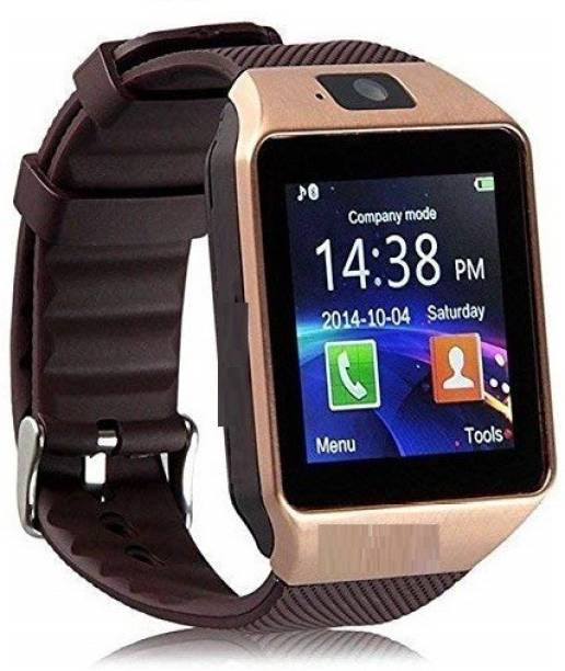 V.T.I ZX09 Smart Watch with Elegant Design for Men and Women (Compatible with Android and iOS)- Gold Color Smart Switch